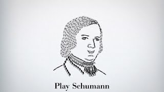 Schumann - The Merry Peasant, Returning from work - Piano