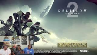 Destiny 2 Official Launch Trailer Reaction