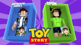 Roblox-AUTHENTIC TURNED into a TOY!