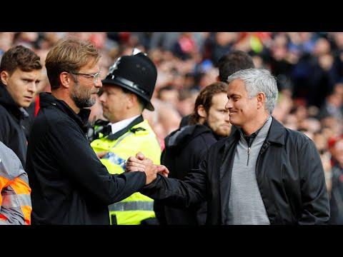 José Mourinho and Jürgen Klopp react to Anfield stalemate
