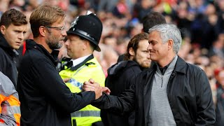 José mourinho and jürgen klopp react to anfield stalemate