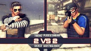 TigerHz & Ploox (61) & Sanram (61) Vs GoD l Operation 7 LA
