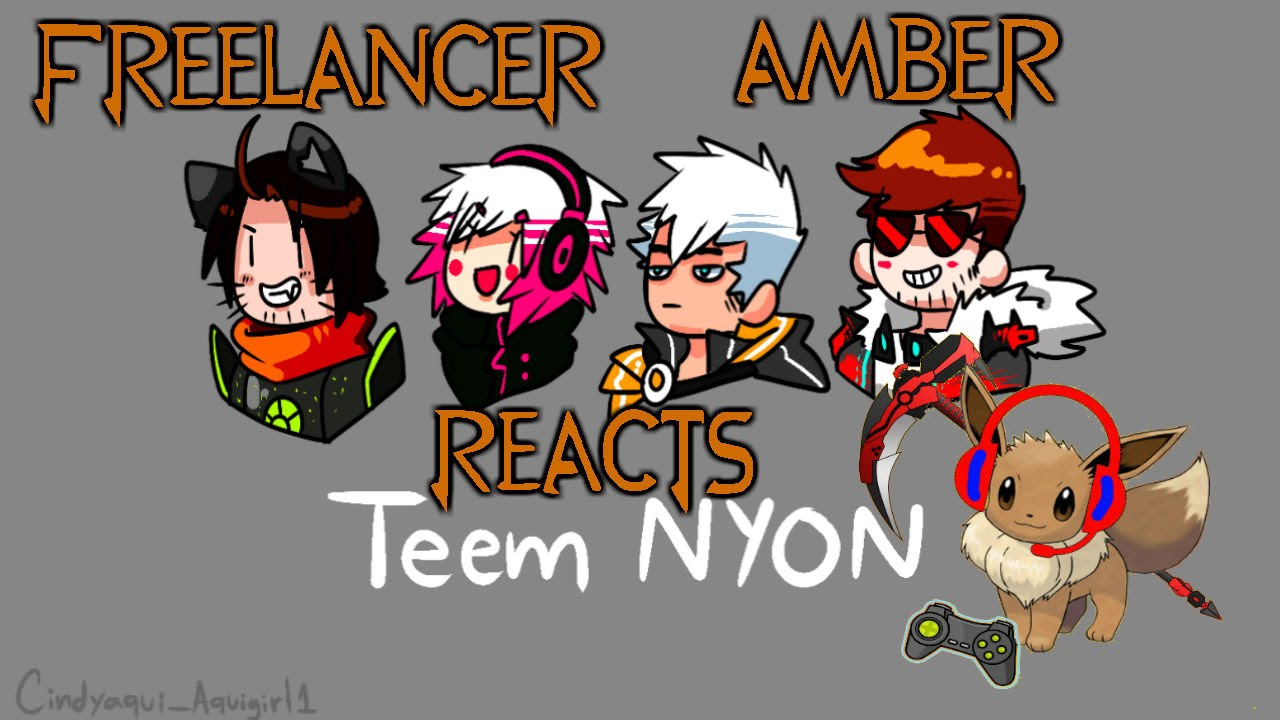 Freelancer Amber Reacts: RWBY OC Team NYON (Please Read Description)