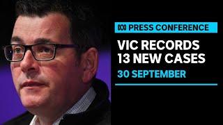 Victoria records 13 new coronavirus cases, four deaths | ABC News