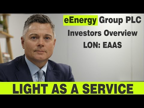 eEnergy Overview - Lighting As A Service (LED Lighting), and Energy As A Service