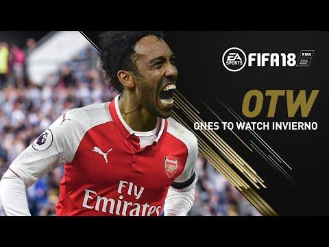 ONE TO WATCH INVIERNO | PREDICCION OTW FIFA 18 | AUBAMEYANG EN EL ARSENAL