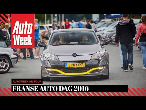 Franse Auto Dag 2016 - AutoWeek on Tour