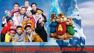 Gambar cover Ziggy zagga-gen halilintar |cover by Alvin.