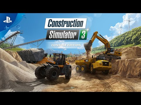 Construction Simulator 3 - Console Edition - Release Trailer | PS4