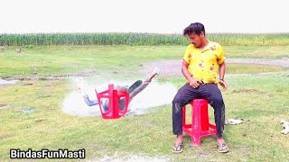 Must Watch New Funny Comedy Video 2021 Try To Not Laugh Best Amazing Video / Bindas Fun Masti