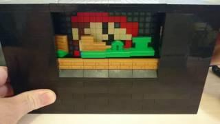Lego Mario Bros Diorama