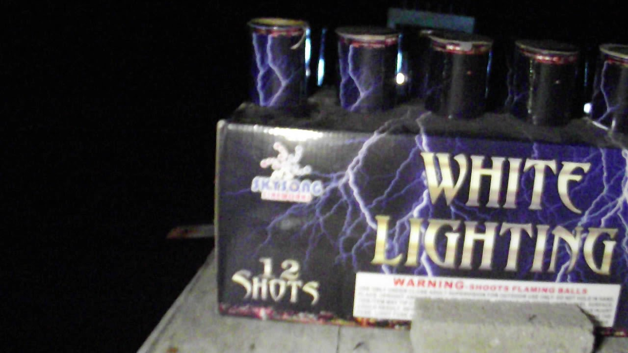boom ridge 2021 white lighting by sky song fireworks and other 500 gram cake  demo with pyro Carlos