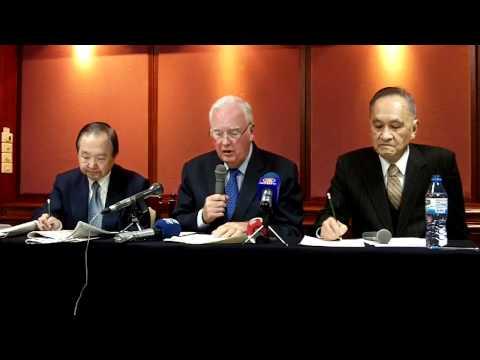 In Taipei, former US Senator Murkowski criticizes outside interference in Taiwan
