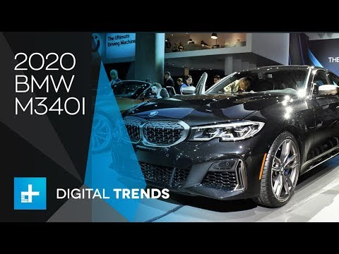 2020 Bmw M340i X Drive First Look At The La Auto Show Youtube