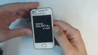 Samsung Galaxy Ace S5839i hard reset
