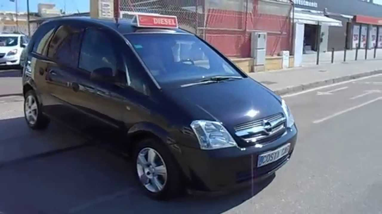 2005 opel meriva 1 3cdti enjoy 4995 youtube. Black Bedroom Furniture Sets. Home Design Ideas