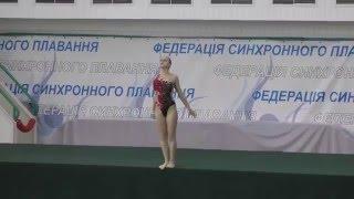 Чемпіонат України 2016. Соло. Довільна програма. м.Київ-1
