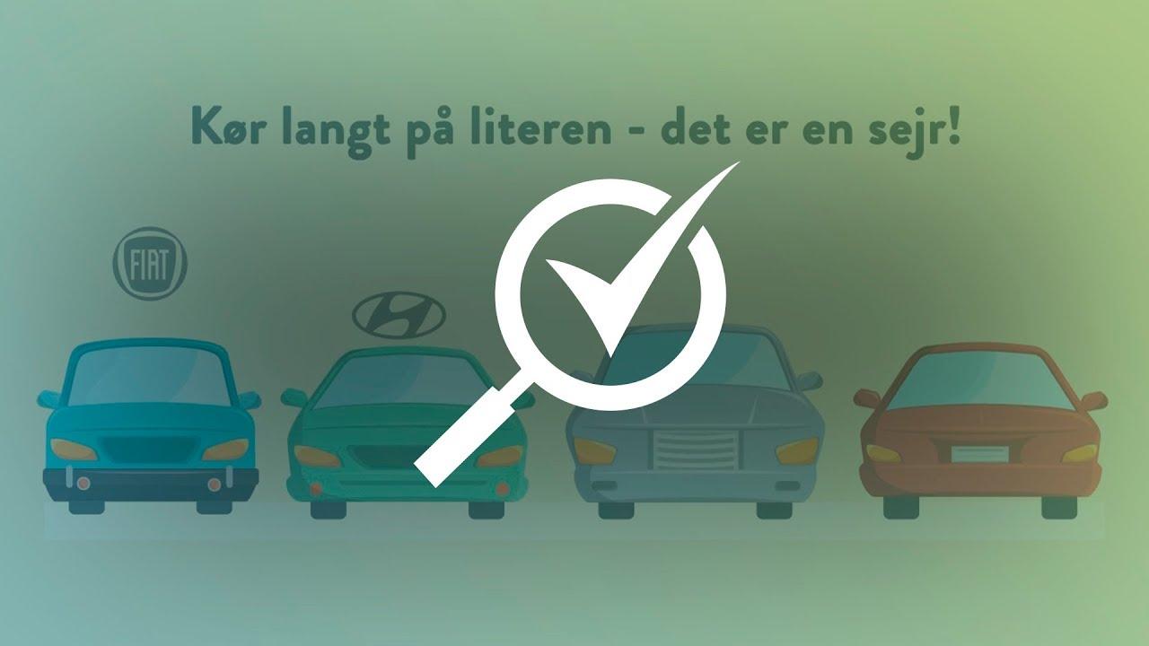 biler der kører langt på literen