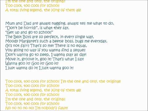 Theo Stevenson - Too Cool For School with Lyrics -