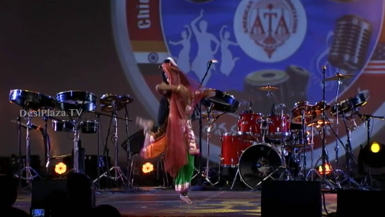 India Sye Ata competition winner Shalini dance at ATA Final day.