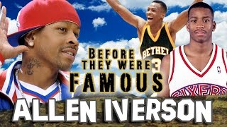 ALLEN IVERSON - Before They Were Famous - BIOGRAPHY