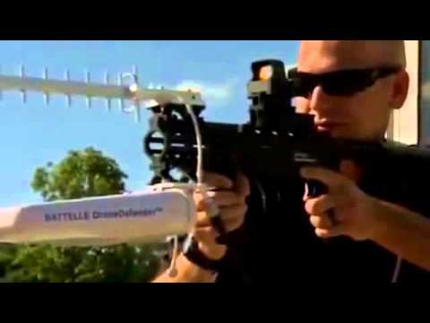 Anti Drone Rifle Lets Police Take Control of UAVs With Radio Pulses