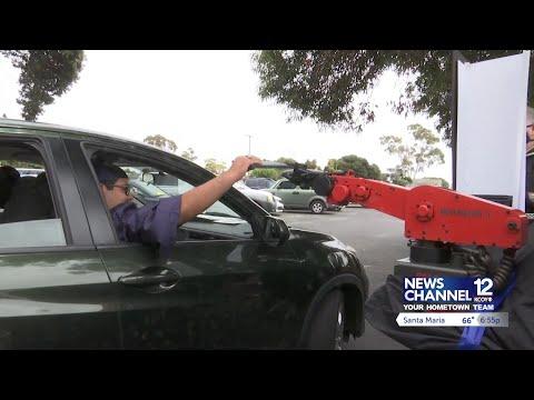ACE Charter High School in Camarillo holds drive-thru graduation ceremony