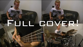 Cannibal Corpse - From Skin To Liquid guitar bass drum cover