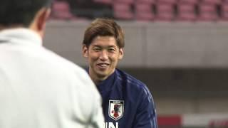 サッカー日本代表 パナマ戦 前日練習
