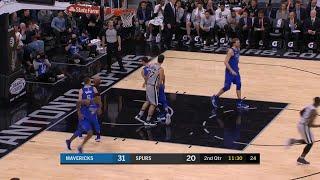 2nd Quarter, One Box Video: San Antonio Spurs vs. Dallas Mavericks