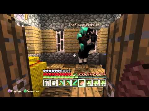 Joe and Davian minecraft lets play ep.2 House Tour