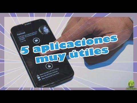 5 aplicaciones curiosas pero utiles para el motorola Moto G
