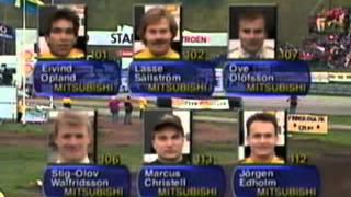 Rallycross Shell Helix Cup Deltävling 1 1997 Kinnekulle