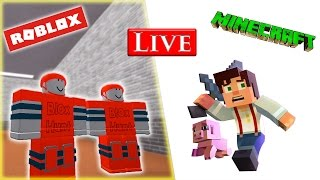 Minecraft NL & Roblox NL stream met Albert