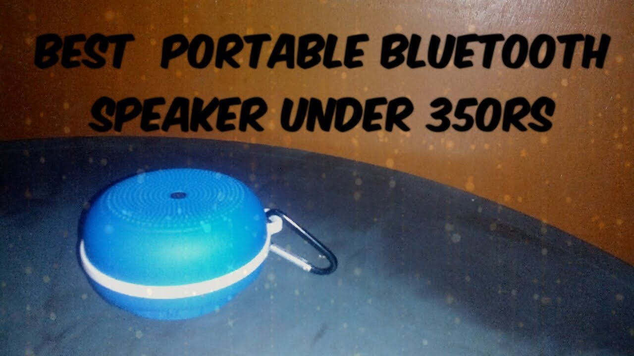 Bluetooth Speaker Under 500 Rs On Amazon Flipkart Best Budget Bluetooth Speaker Youtube