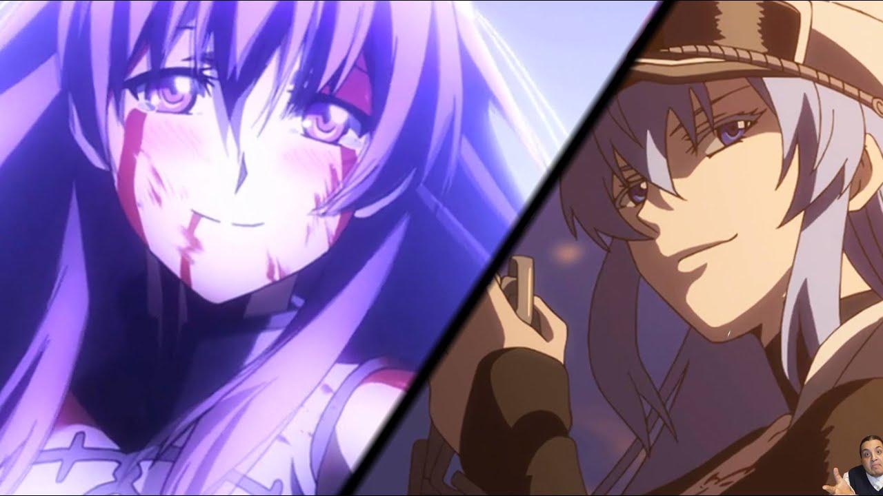 Akame Ga Kill Akame Cute Wallpaper Reaction Akame Ga Kill Episode 6 アカメが斬る Sheele Amp Mine