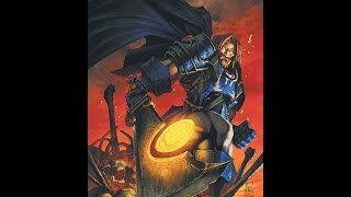 WarcraftIII Король мёртвых Могрейн vs Бальназар