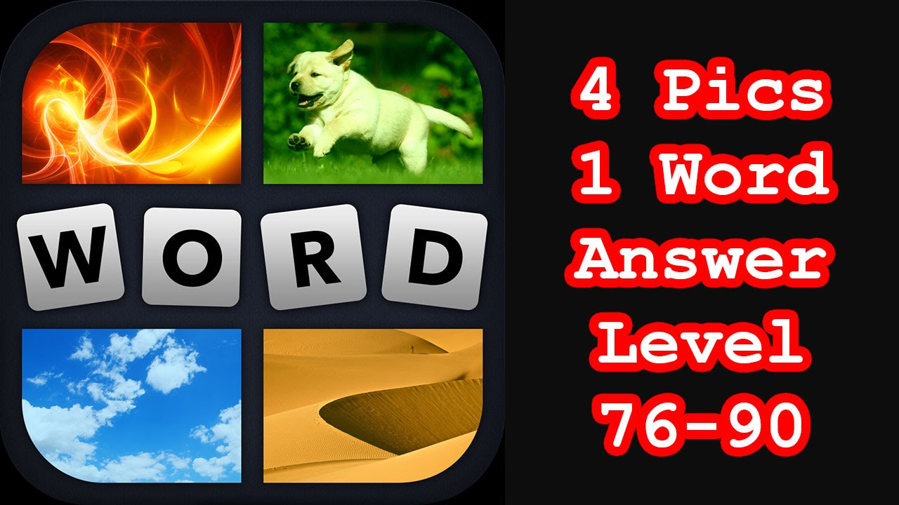 4 Pics 1 Word Level 76 90 Find 3