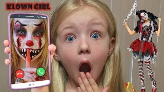 Calling the Creepy Clowns Girlfriend at 3AM *OMG* SO SCARY!!!