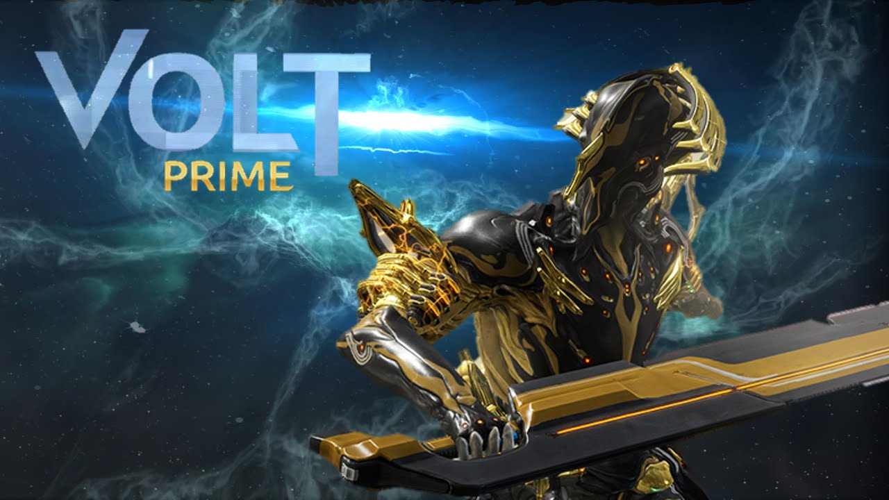 Warframe Volt Prime How to get volt prime in warframe ! - youtube