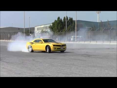 Drift:chevrolet camaro 2013 drift,HD/درفت كامارو