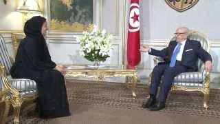 رئيس الجمهورية يلتقي المبعوثة الرسمية لدولة الامارات العربية المتحدة