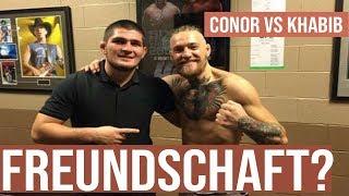 Waren Conor und Khabib Freunde?