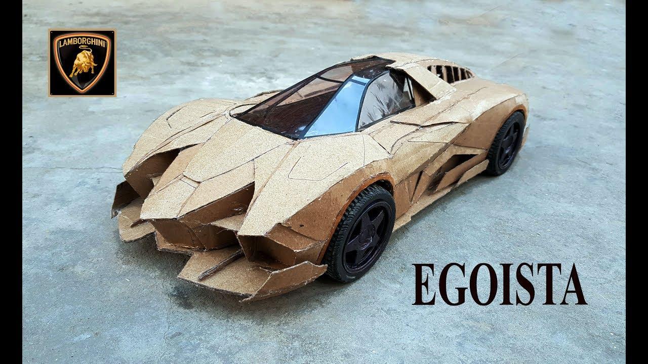 Wow Lamborghini Egoista How To Make A Lamborghini Out Of