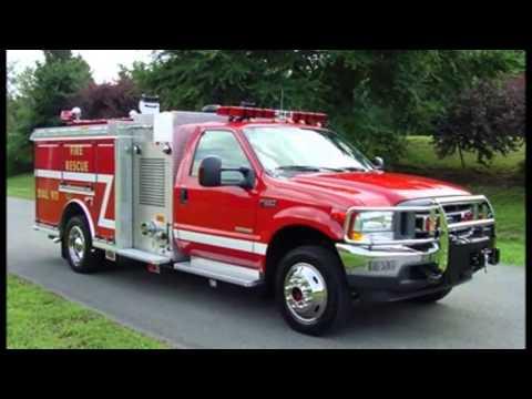 F550 For Sale >> 2004 4x4 Ford F550 KME Mini-Pumper 500/300/10 (W0772) - YouTube