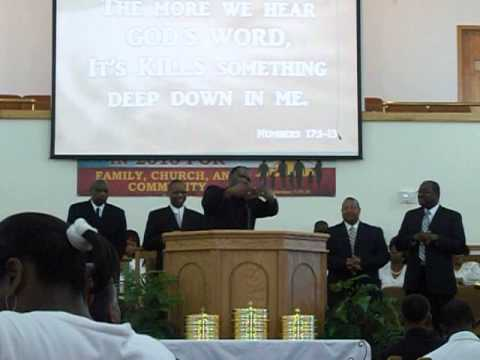 Rev. Elmore Garner Whooping Part Seven This Church Is Killing Me MCBC Lake Charles, Louisiana