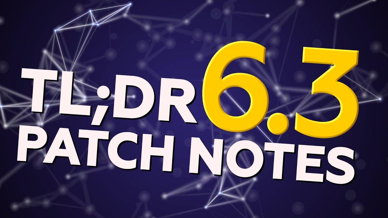 blakinola | TL:DR Patch Notes 6.3 - League of Legends