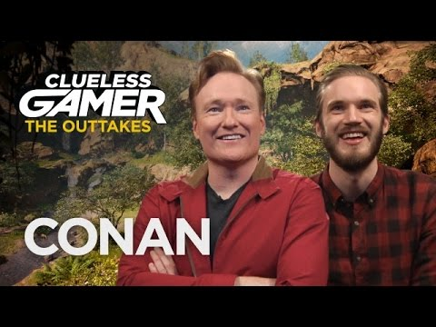 "Thumbnail: Outtakes From Clueless Gamer: ""Far Cry Primal"" - CONAN on TBS"