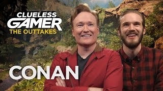"Outtakes From Clueless Gamer: ""Far Cry Primal""  - CONAN on TBS"