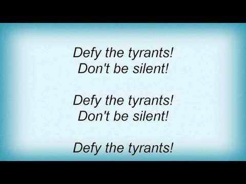 16153 Otep - Confrontation Lyrics